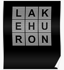 Lake Huron Poster
