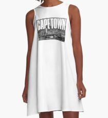 Cape Town Cityscape A-Line Dress
