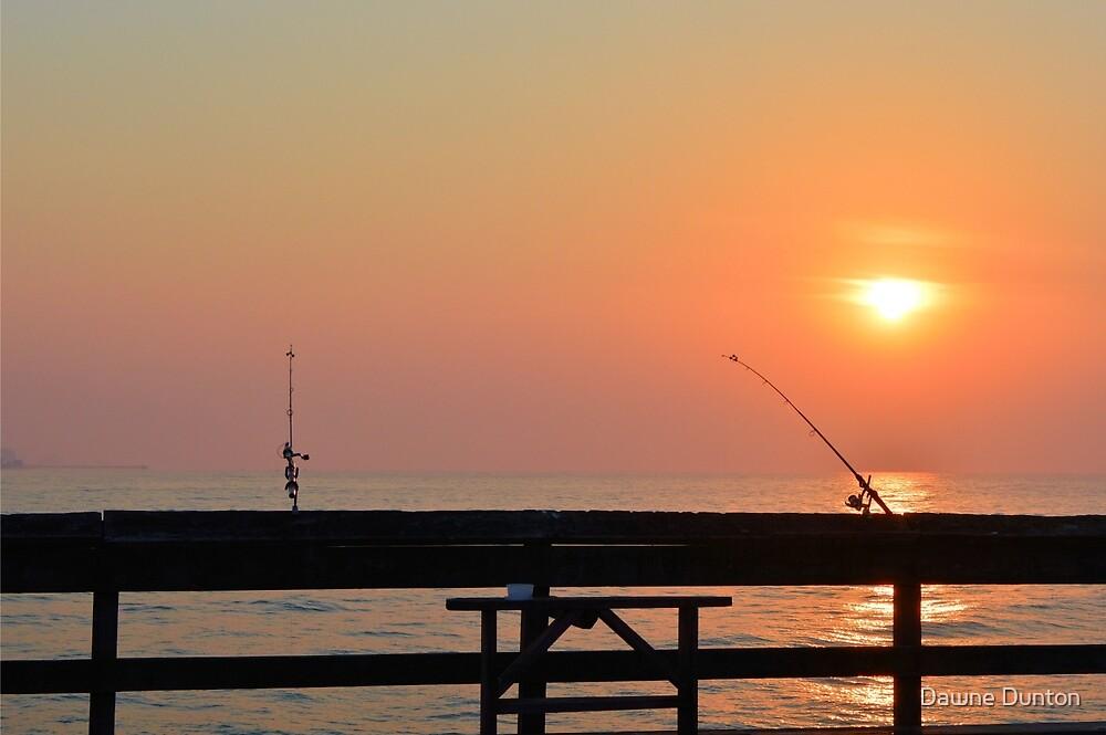 Fishin' by ©Dawne M. Dunton