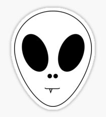 Baby The Alien  Sticker