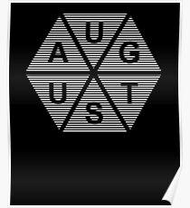 Born In August - Birthday Shirt Poster