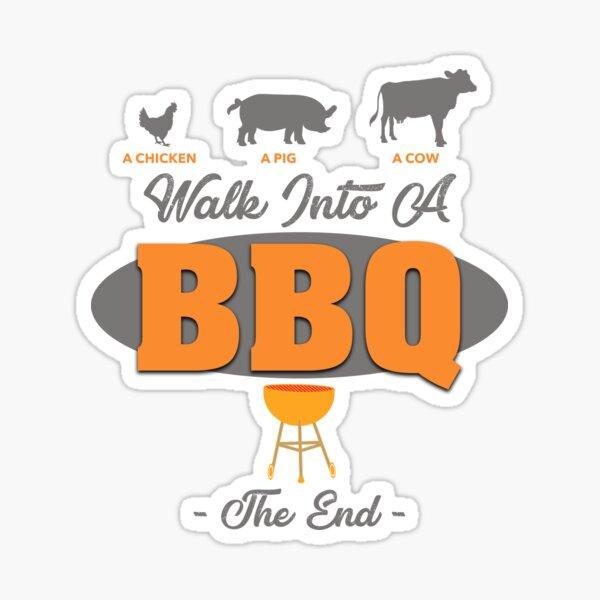 BBQ Sticker