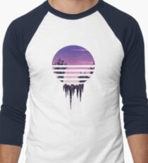 Frozen Sunset Men's Baseball ¾ T-Shirt