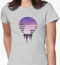 Frozen Sunset Women's Fitted T-Shirt