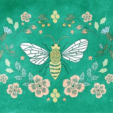 Bee Garden by JMHurd