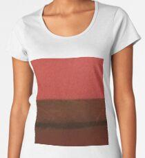 RED TO BROWN Women's Premium T-Shirt