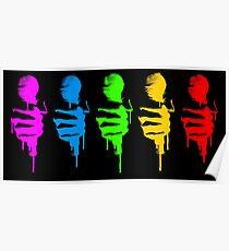 Five Mics Poster