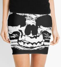 Pirates Adventure Mallorca Merchandise Skull Black Mini Skirt