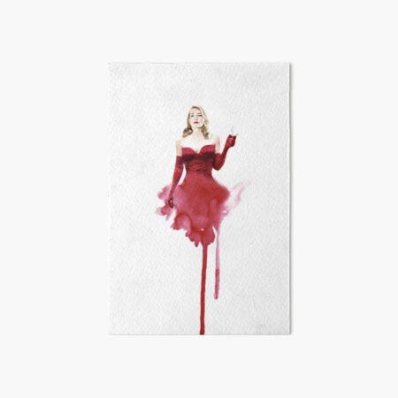 The Dressmaker - Kate Winslet - Watercolour Art Board Print