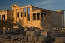 The Erectheum at Sunset by photosbyflood