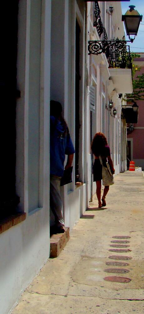 Old San Juan Puerto rico  by Elizabeth Rodriguez