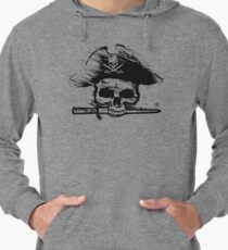 Pirates Adventure Mallorca Merchandise Skull White Lightweight Hoodie