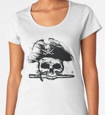 Pirates Adventure Mallorca Merchandise Skull White Women's Premium T-Shirt