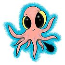 Cute baby octopus cartoon by FrogFactory