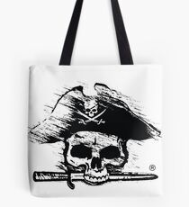 Pirates Adventure Mallorca Merchandise Skull White Tote Bag