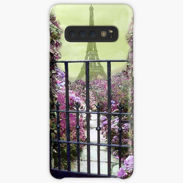 Eiffel Garden  Samsung Galaxy Snap Case