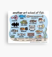 another art school of fish Metal Print