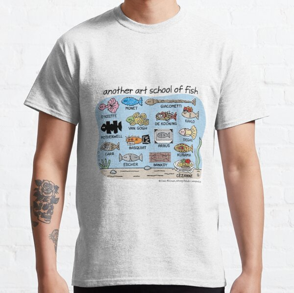 another art school of fish Classic T-Shirt