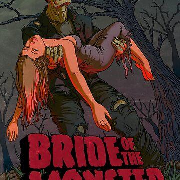 Bride of the Monster by rubenlopezart