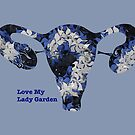 The Lady Garden Blue by MidnightMagpie