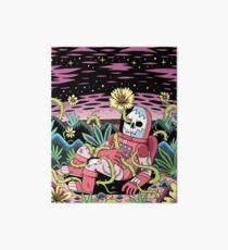 Flower Art Board Print