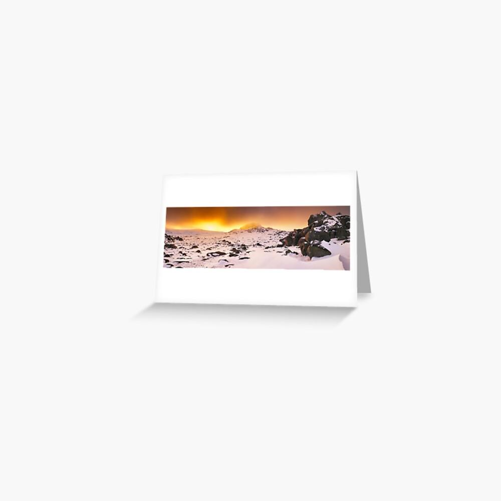 North Rams Head, Kosciuszko, New South Wales, Australia Greeting Card