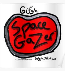 Space Gazer Logo | Giggle | Official Giggle Merch Poster