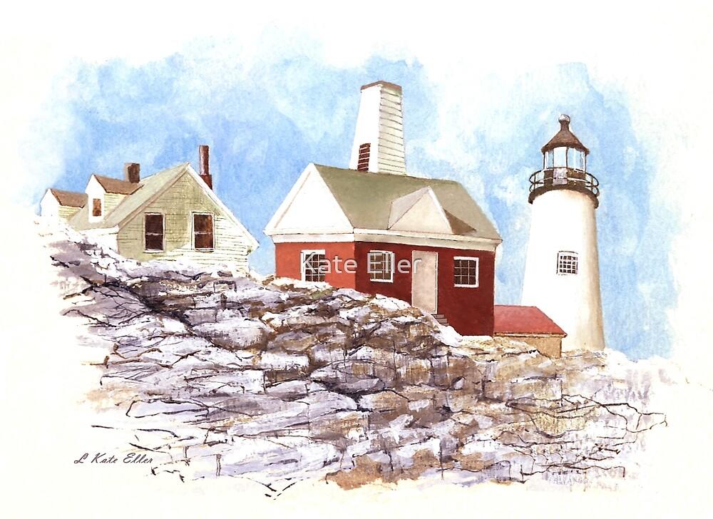 Maine Lighthouse by Kate Eller