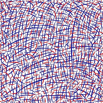 Red and blue lines by FEDVAL