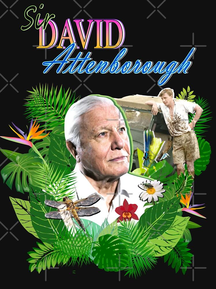 Sir David Attenborough  by LucyLapwing