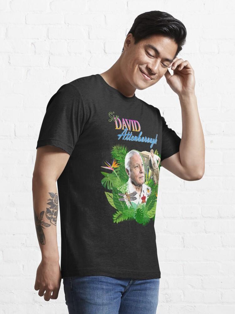 Alternate view of Sir David Attenborough  Essential T-Shirt