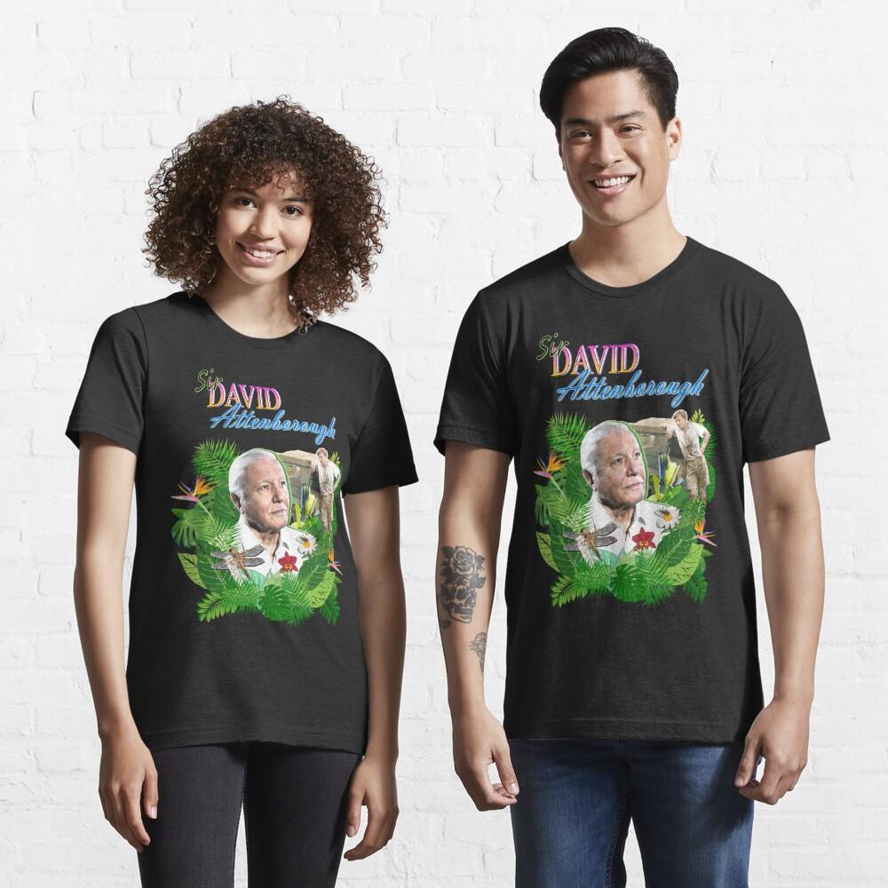 Sir David Attenborough  Essential T-Shirt