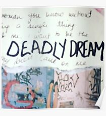 Deadly dream Poster
