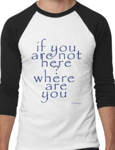 whereareyou Men's Baseball ¾ T-Shirt