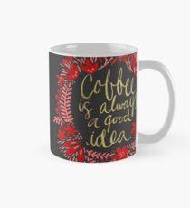 Coffee on Charcoal Mug