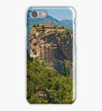Monastery of the Holy Trinity, Meteora iPhone Case/Skin