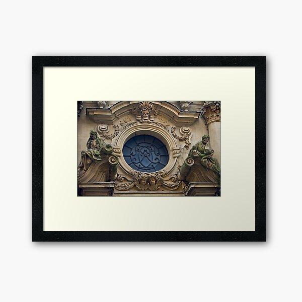 Nave of th Dom Framed Art Print