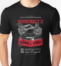 Golovkin vs Canelo 2 Unisex T-Shirt
