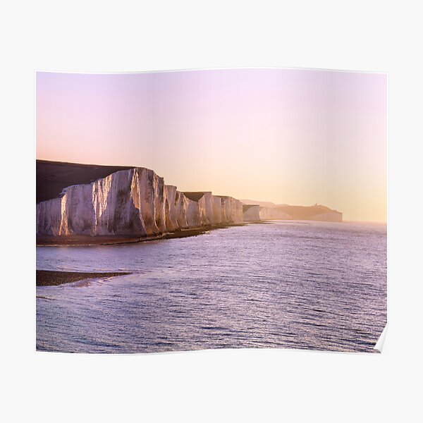 The Seven Sisters, Winter Sunrise Poster