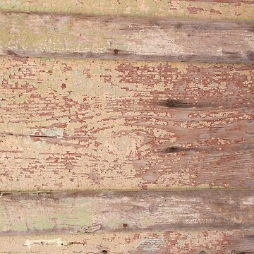OLD FLAKY PAINT ON WOOD PANELLING by TOMSREDBUBBLE