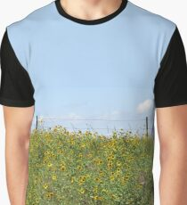 Black Eyed Susan on a Green Hill Graphic T-Shirt