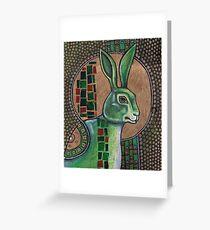 Icon III: The Rabbit Greeting Card