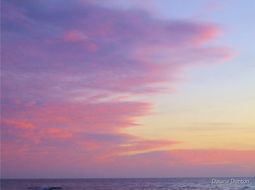 Pink Sunrise by Dawne Dunton