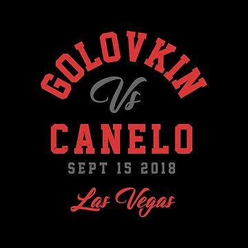 GGG vs Canelo Boxing T-shirt by TeeMonsters