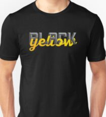 Black and Yellow Pittsburgh Fans Unisex T-Shirt