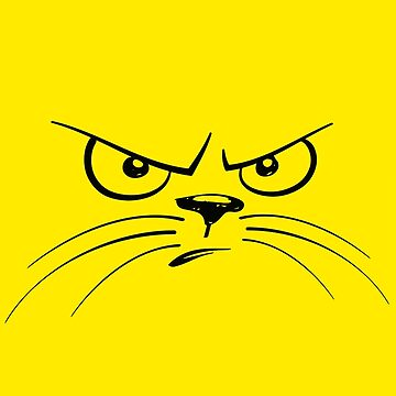 Piss Off! Cat Face by Slinky-Reebs