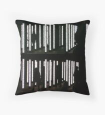Volume Light Installation Throw Pillow