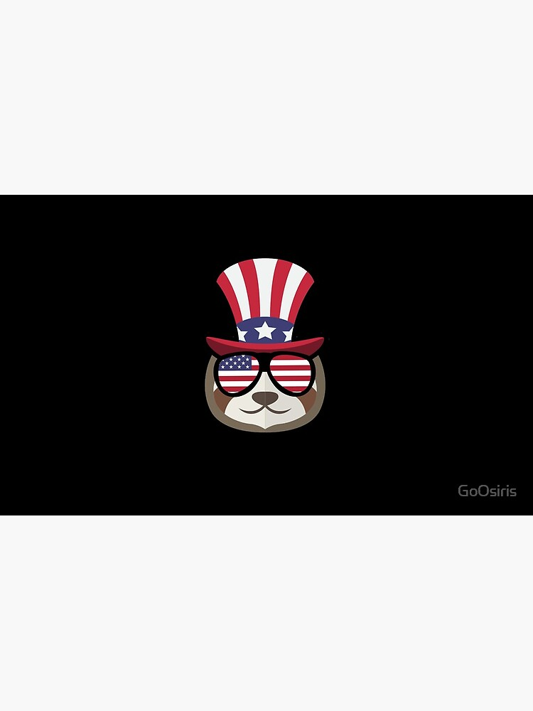 Sloth Happy 4th Of July de GoOsiris