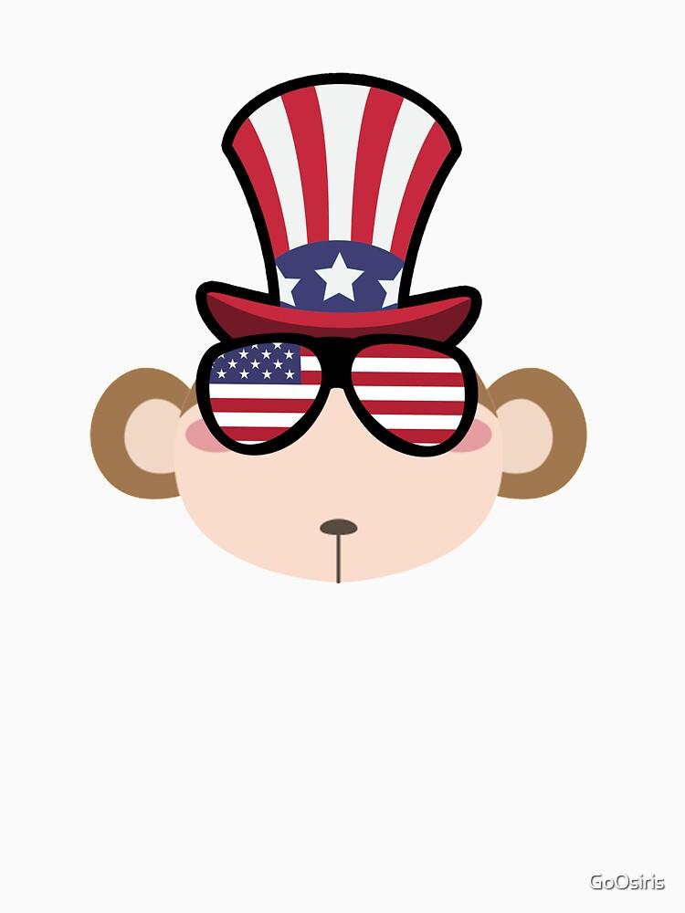 Monkey Happy 4th Of July de GoOsiris