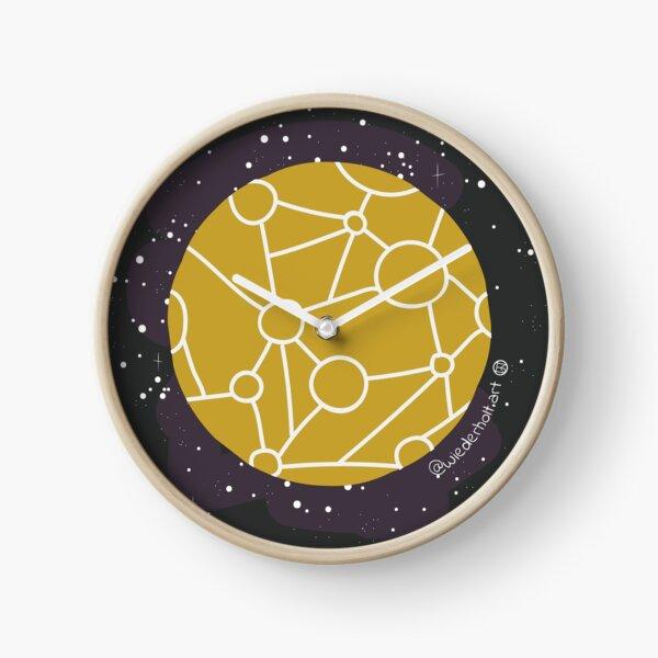 mapa del planeta del tesoro Reloj